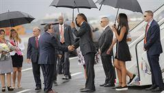 Na Kubě se přepisuje historie. Dorazil prezident Obama