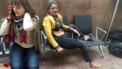 Na bruselském letišti se odpálil terorista, bomba zabíjela i v metru. 34 mrtvých, téměř 200 raněných