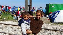 Malí uprchlíci v Řecku absolvují preventivní plošné očkování