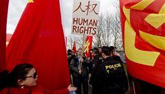 Policie při návštěvě čínského prezidenta nespáchala trestný čin, říká inspekce