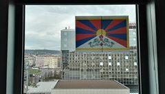 Zákrok policie kvůli tibetské vlajce byl nezákonný, rozhodl soud