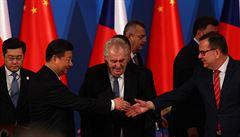Hrad opět hostí Číňany. Investiční fórum je skromnější, ubude účastníků, nepřijde premiér