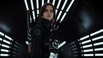 Felicity Jones ve filmu Rogue One: Star Wars Story