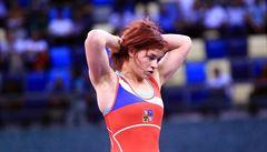 Zápasnice Hanzlíčková má první medaili na světové scéně, bronz z MS do 23 let