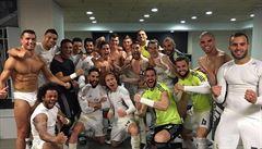 Ronaldo slavil výhru v El Clásicu nahý, šťastný Zidane doufá v obrat sezony