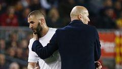 Nedoceněný šutér Benzema. Karim je nejlepší devítka na světě, tvrdí Zidane. Proč nemá obdiv?