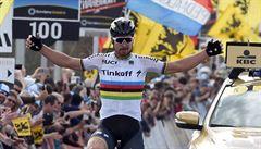 Fantastický Sagan! 'Terminátor' ovládl po úniku coby mistr světa Flandry