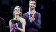 Obhájili světový titul v tancích na ledě. Papadakisová a Cizeron jsou zase mistry