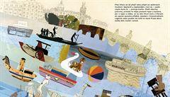 To je Praha! Ilustrovaná dětská kniha z Čech získala cenu na prestižním literárním festivalu v Boloni