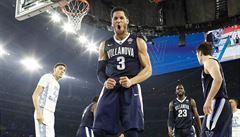 Trefa za milion. Basketbalisté Villanovy vyhráli trojkou v poslední sekundě NCAA