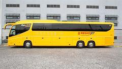 Z pražské Florence odjel první autobus obnovené linky do Německa. Cestovalo v něm 13 lidí
