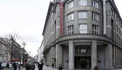 Komerční banka prodá svou budovu v centru Prahy v ulici Na Příkopě