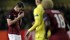 Bídný začátek, pak Sparta zabrala. Z Villarrealu veze přijatelnou prohru 1:2