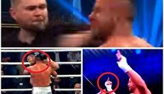 VIDEO Kousal soupeře jako Tyson. Trenér napadeného jej uzemnil hákem