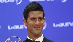 Tenisté Djokovič a Williamsová ovládli sportovní Oscary, oceněn byl i Cruyff
