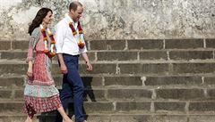 William a Kate přijeli na návštěvu Indie. Uctili památku obětí teroristického útoku
