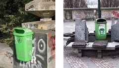 Jaký koš v Praze je nejhezčí? Metropole jich má 44 druhů, design se možná sjednotí