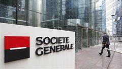Policie kvůli Panama Papers prohledala ústředí francouzské banky Société Générale