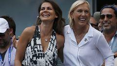 Navrátilová nechápe homosexuály mezi tenisty. Proč se skrývají?