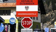 Německo posiluje kontroly na dálničních přechodech s Rakouskem