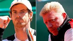 Murray naznačil doping rivalů, Becker mu vzkázal: Bez důkazů radši mlč