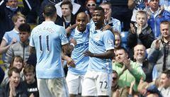 Manchester City deklasoval Stoke a poskočil na třetí místo