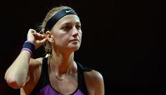 Kvitová je v Madridu v osmifinále, Plíšková překvapivě prohrála