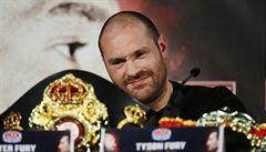 Boxerský šampion Fury měl pozitivní nález na kokain. Vrátí titul Kličkovi?