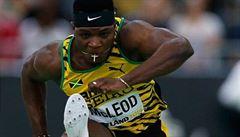 VIDEO: McLeod jako první zaběhl stovku pod 10 sekund a 110 metrů pod 13 sekund