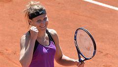 Tenisovému Prague Open počasí nepřálo, Šafářové však evidentně prospělo