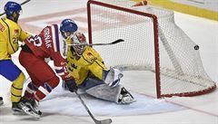 Češi smetli Švédy 7:1. Vůjtek zažil nejvyšší výhru u národní týmu