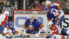 New York Islanders porazili Floridu, Jágrovi skončila sezóna
