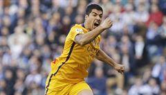 Barcelonský uragán: výhra 8:0 a sedm bodů kanonýra Suáreze