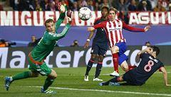 Atlético má blízko do finále Ligy mistrů. Nad Bayernem zvítězilo 1:0