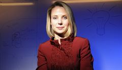 Novou šéfkou Yahoo bude Marissa Mayerová z Google