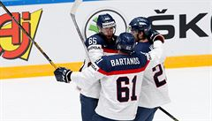 Slováci porazili Američany až v prodloužení, do čtvrtfinále proto nepostoupí