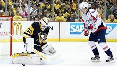Penguins porazili podruhé Capitals, brankář Murray si připsal 47 zákroků