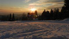 V Krkonoších vyhlásili druhý lavinový stupeň. Připadlo 45 centimetrů sněhu