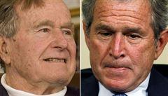 Exprezidenti Bushové Trumpa nepodpoří. S kampaní nechtějí mít nic společného