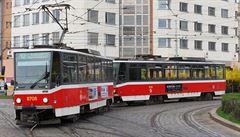 Pražský tramvajový třesk na konci srpna. Změní se trasa devíti linek, tři přibudou