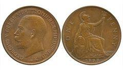 Jednopencová mince z roku 1933 se prodala za dva a půl milionu korun