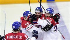 Češi zdemolovali Nory 7:0 a míří do čtvrtfinále. Furch je na MS neprůstřelný