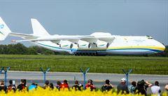 Největší letadlo na světě zblízka. Podívejte se na Antonov An-225