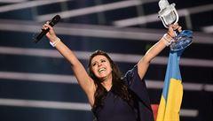 'Politika porazila umění.' Rusko kritizuje vítězství Ukrajinky v soutěži Eurovize