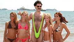 Borat může za rozvod Pamely Andersonové, tvrdí herec Sacha Baron Cohen