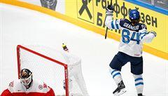Finové jsou prvními semifinalisty MS. V severském derby porazili Dány 5:1