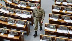 Ukrajinská tajná služba zatkla ruského špiona ve vládních kruzích