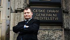 Šéf Českých drah Krtek zvítězil v soutěži o nejlepší vedení společnosti
