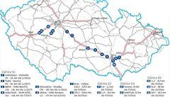 Dálniční peklo. Rozkopané budou klíčové tahy na Plzeň, Brno i Strakonice