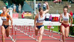 Atletická naděje Cachová: Ke zlatu jsem měla kousek